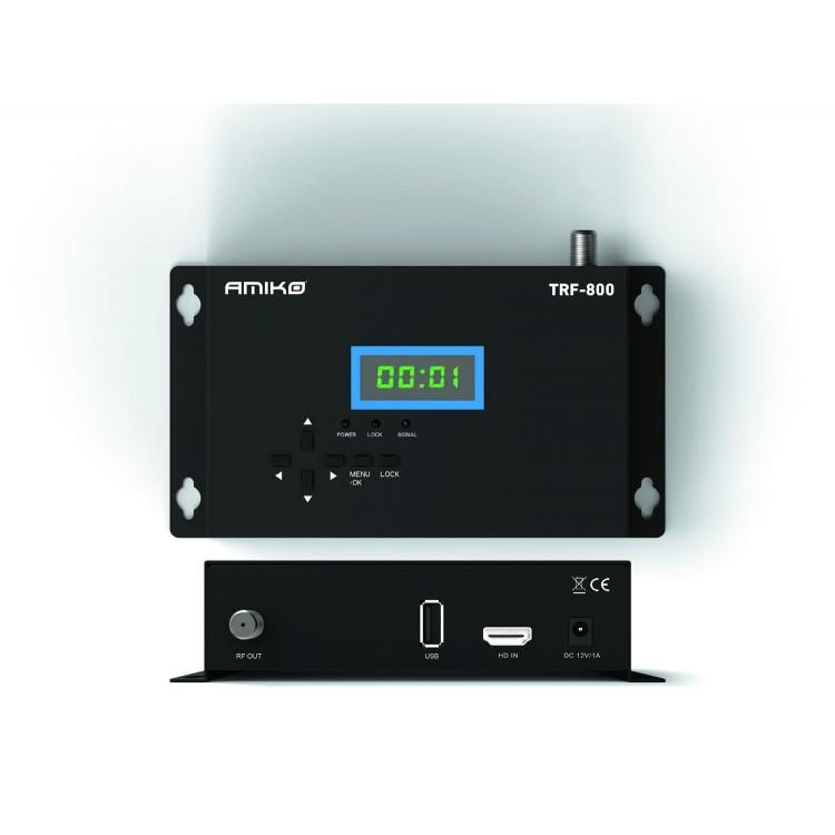 Modulador Amiko TRF-800 - HDMI para RF
