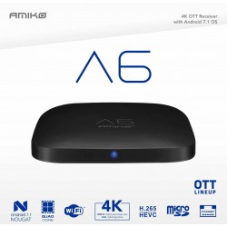 "Amiko A6 ""4K"" Android / IPTV"
