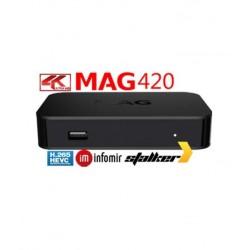 MAG 420 - Linux IPTV - 4k