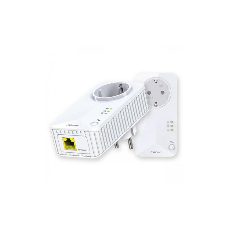 Kit Powerline Strong LAN (500Mbps)