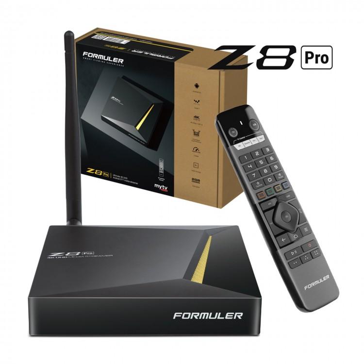 Formuler Z8 Pro 4K - Android - MyTVOnline 2