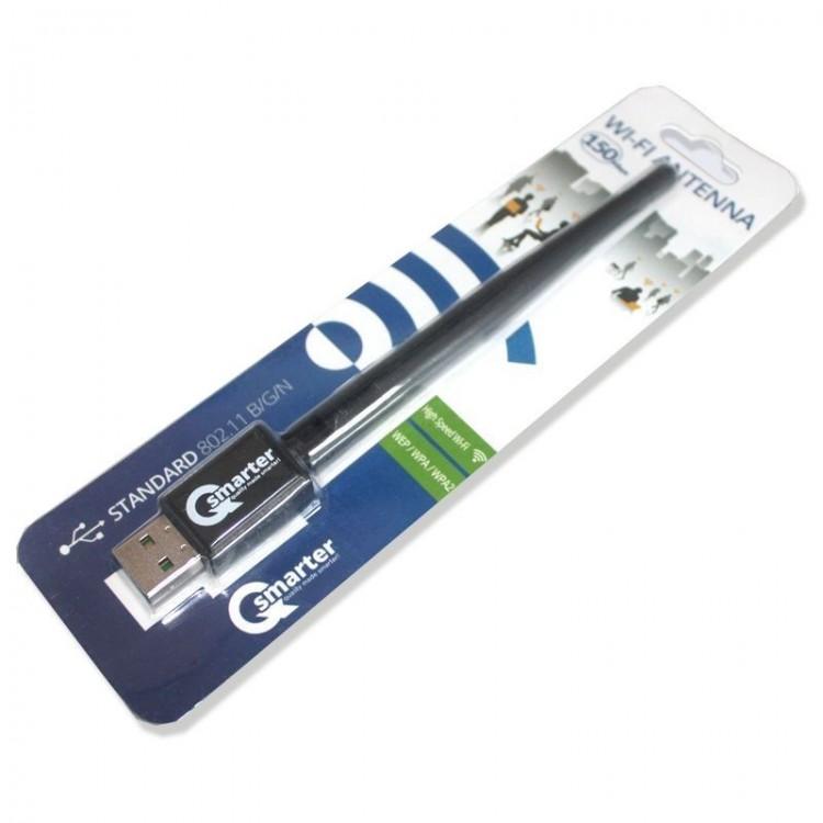 QSmarter Wi-Fi Antena 150 Mbps