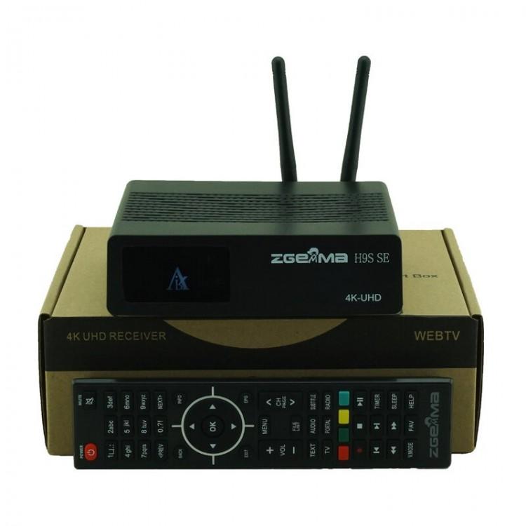 Zgemma H9S SE - E2 + Android - 4K DVB-S2