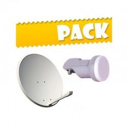 Pack Parabólica 60cm + LNB...